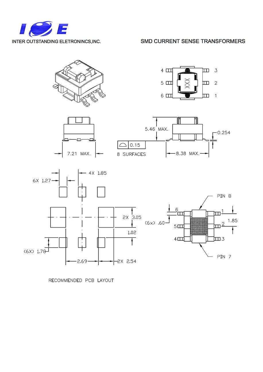EE5.0 SMD CURRENT SENSE TRANSFORMERS2.jp