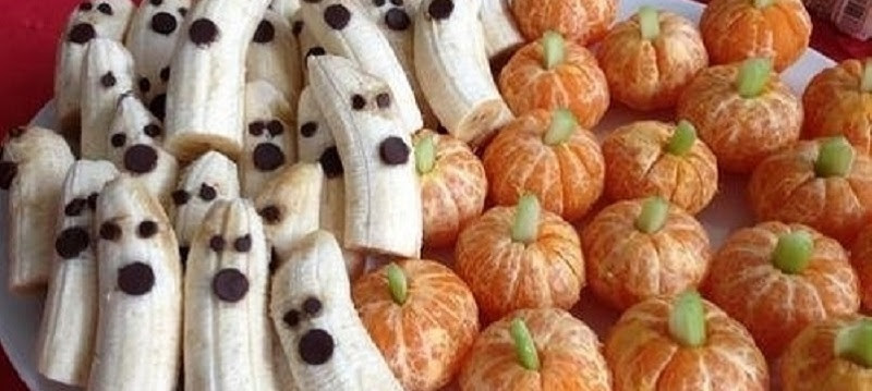 Healthy Snacks for Halloween!