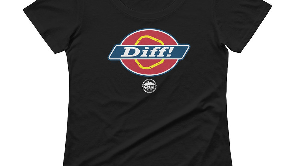 DIFF!  Ladies' Scoopneck T-Shirt