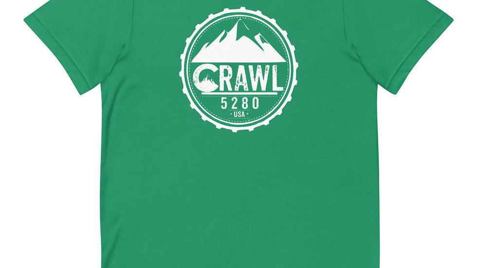 Crawl 5280 Round Logo Short-Sleeve Unisex T-Shirt