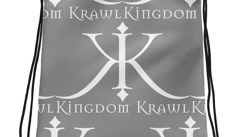 Kingdom Krawl Drawstring bag
