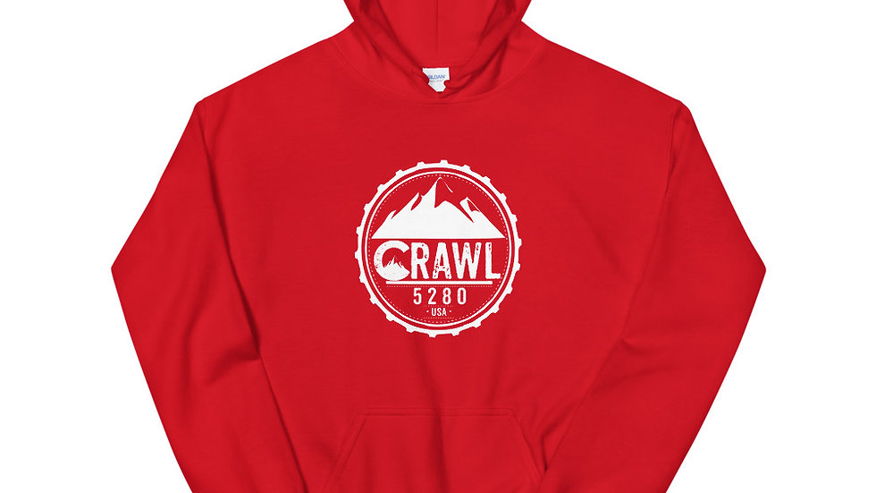 Crawl 5280 Round Unisex Hoodie