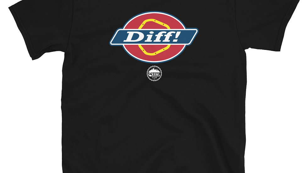 Diff! Short-Sleeve Unisex T-Shirt
