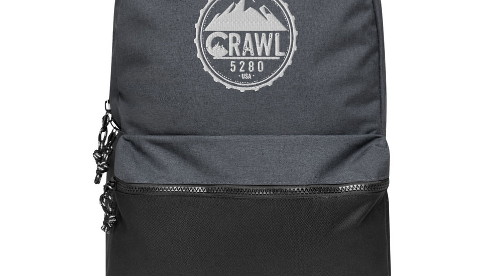 Crawl 5280 Embroidered Champion Backpack
