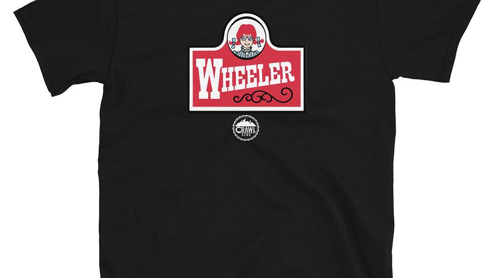 Frosty Wheeler Short-Sleeve Unisex T-Shirt