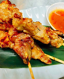 Grilled Pork Kiin Imm Thai