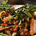 Basil Pork Crisp