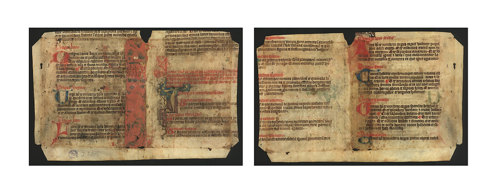 Manuscript page of Picatrix from 1300 - 1399 AD.