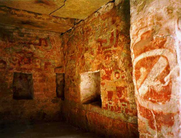 Interior of present day Tonmb 104