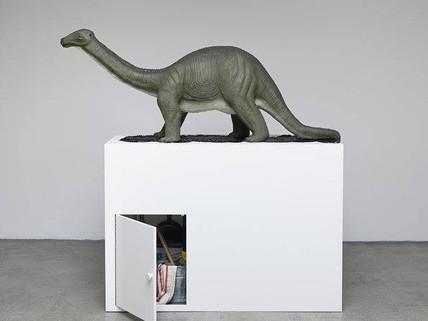 Brontosaurus by Mark Dion