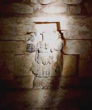 Effigy figure of tomb 104.