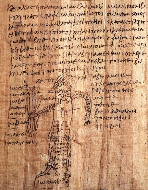 The Greek Magical Papyri is the name given by scholars to a body of papyri from Graeco-Roman Egypt, which each contain a number of magical spells, formulae, hymns and rituals. The materials in the papyri date from the 2nd century BC to the 5th century AD.