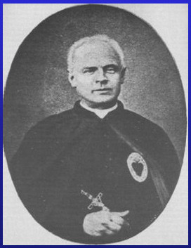 Father Victor Jouet, founder of the Museum of the Souls of Purgatory, Rome, Italy