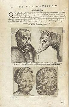 """Giambattista Della Porta, """"De Humana Physiognomonia"""" Libri iiii, page 60"""