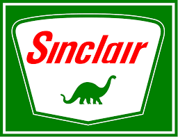 Sinclair Oil logo.
