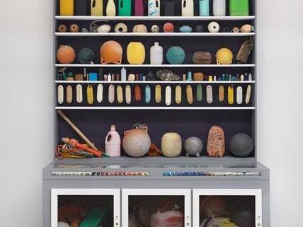 Cabinet of Marine Debris by Mark Dion