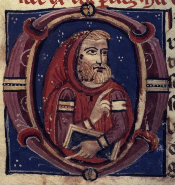 """Michael Scot in Bodleian """" De physionomiae"""", MS. Canon. Misc. 555, fol. 059r"""