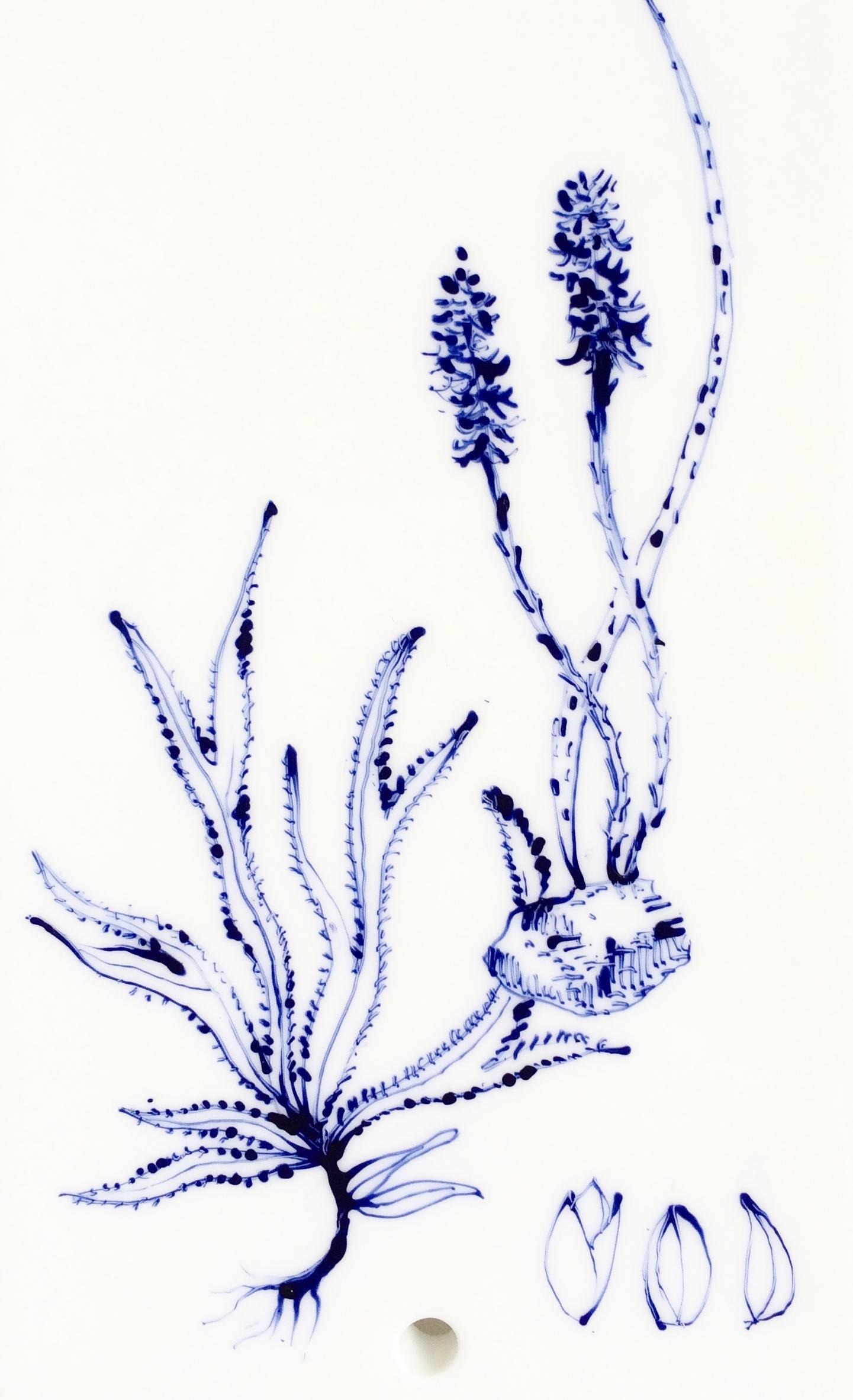 Plaque décor végétal 4 - détail