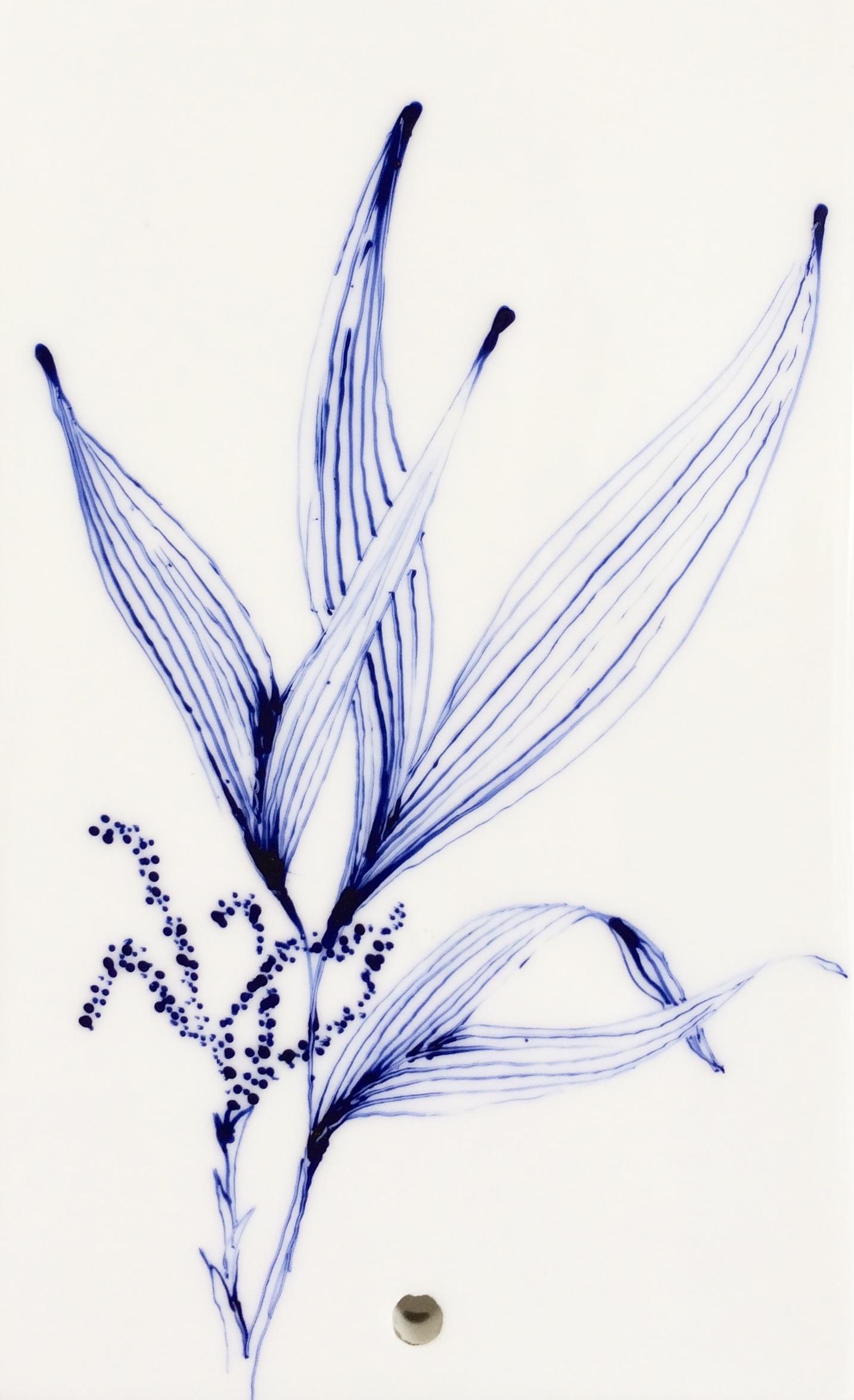Plaque décor végétal 3 - détail