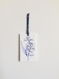 Plaque décor végétal 1
