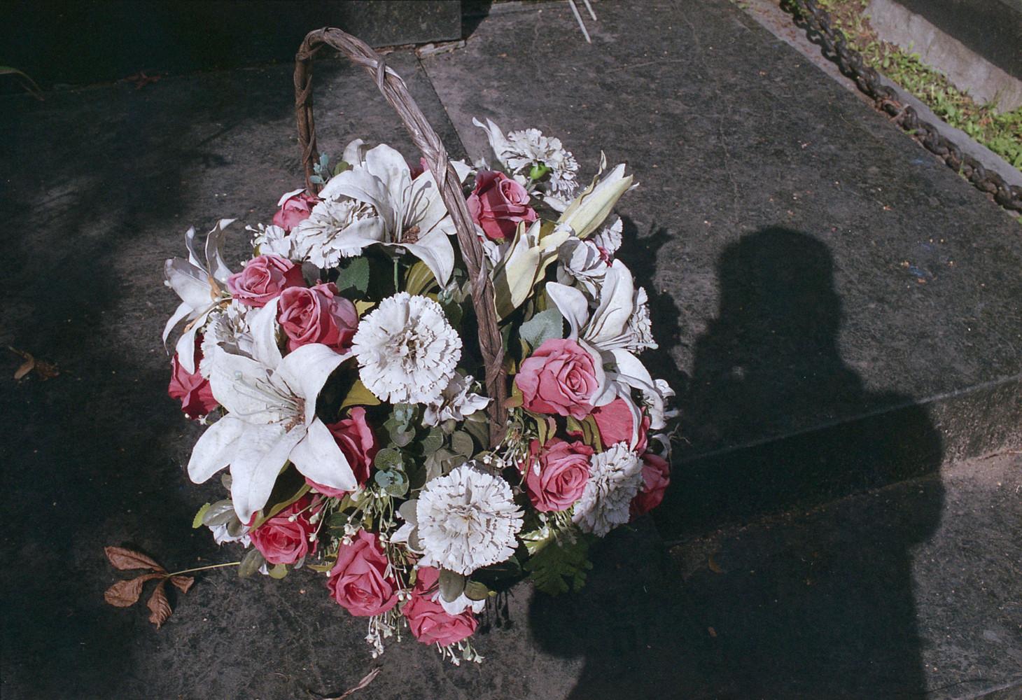 Ostrovsky basket of flowers