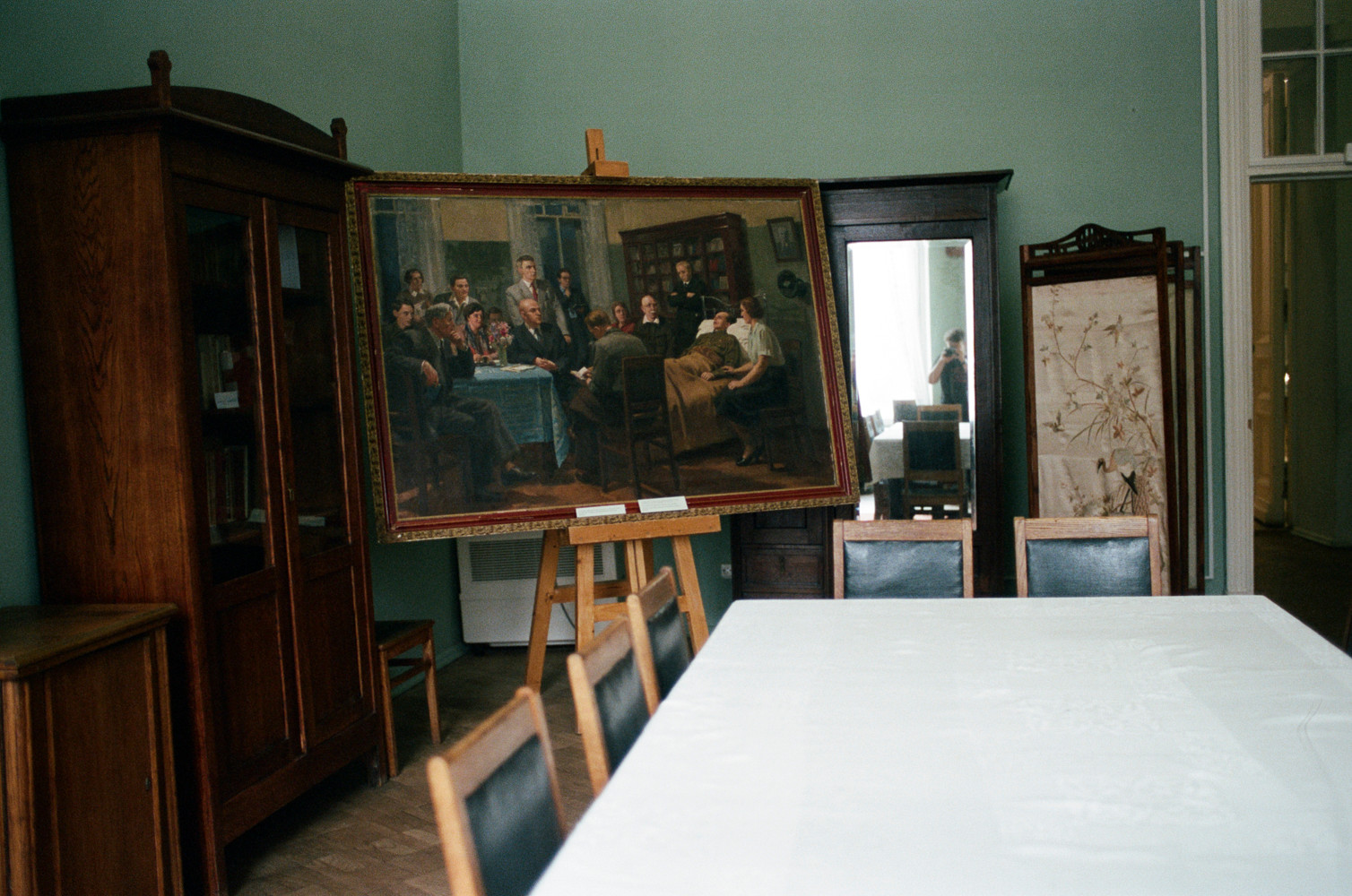 Ostrovsky Moscow dining room