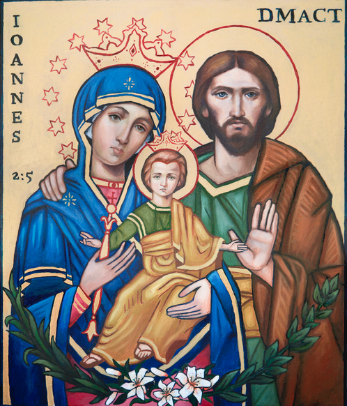 Icon of the Holy Family  (Salesian)