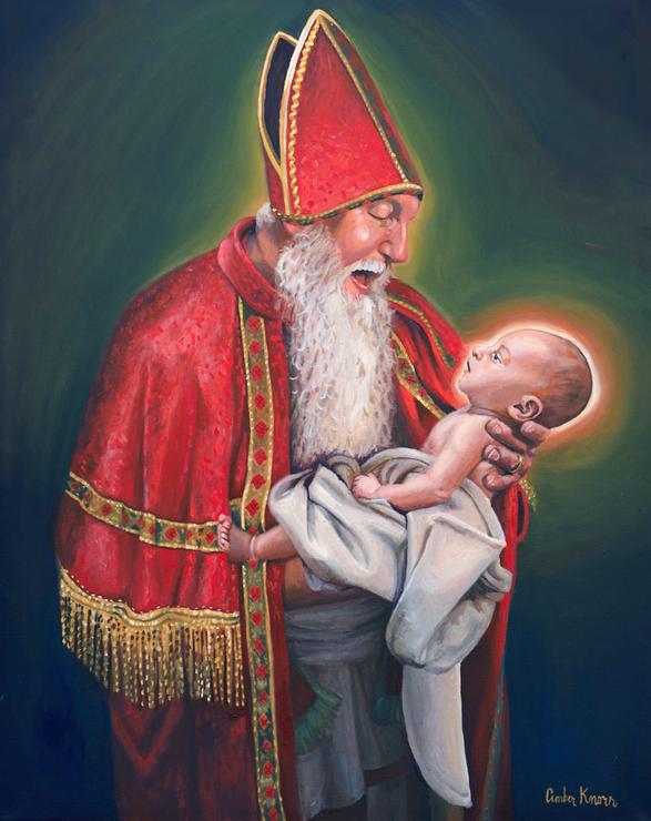 St. Nicholas and the Christ Child