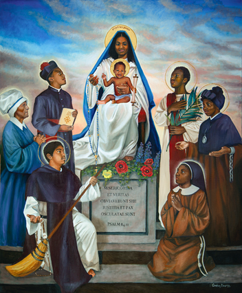 Our Lady of Kibeho and Saints