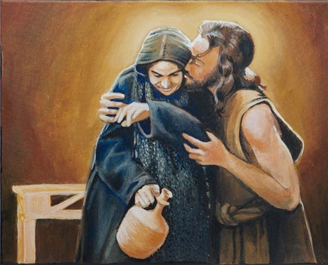 """""""Behold Your Mother"""" Mary and Jesus from The Passion"""