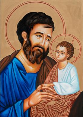 Icon of St. Joseph and the Child Jesus