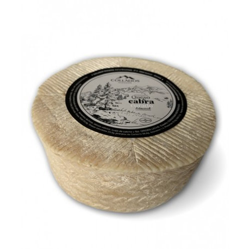 Queso de Cabra Curado de 1,600 g. aprox.