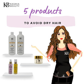 5 products to prevent dry hair