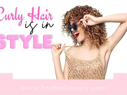 Curly hair is in Style!