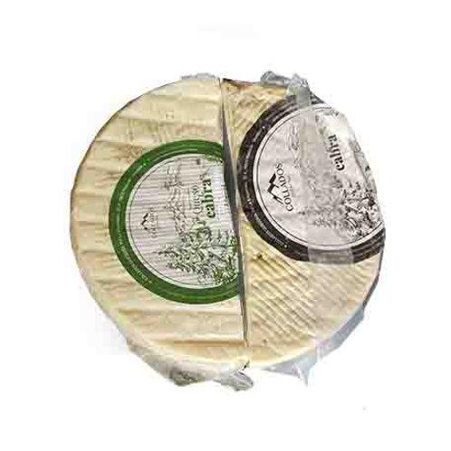1/2 Queso de Cabra Semicurado de 850 g. y 1/2 Queso Curado de 850 g.