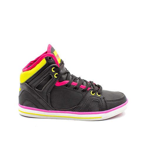 Zapatilla New Walk Caña Black
