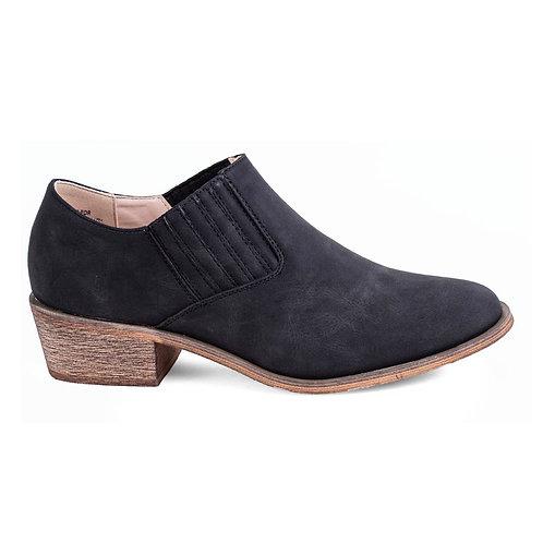 Zapato Mujer New Walk Texano Negro