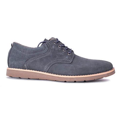 Zapato Nat Geo Navy Cuero
