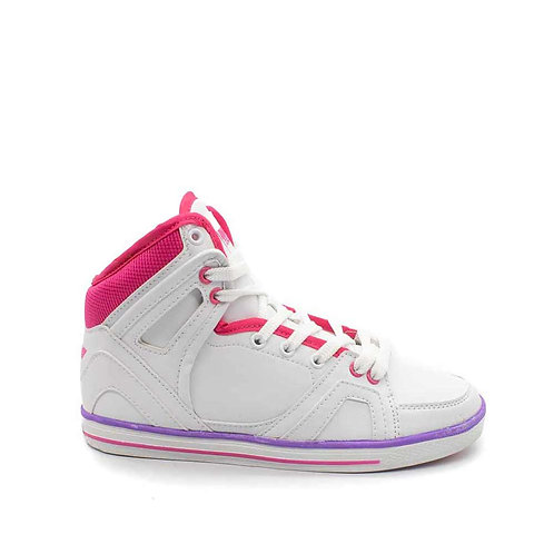 Zapatilla New Walk Caña Pink