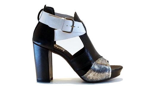 Zapato Felmini Vintage Black White