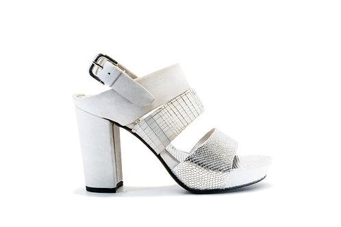 Zapato Felmini Cuero White Texturas