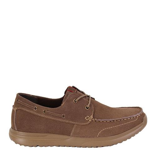 Zapato Nat Geo Cuero Taupé