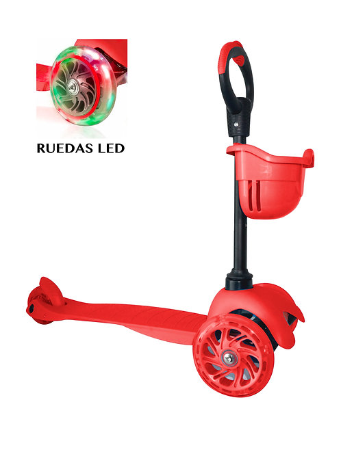 Scooter Adaptable Rojo