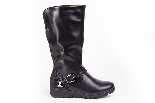 Bota New Walk Hebilla Negra