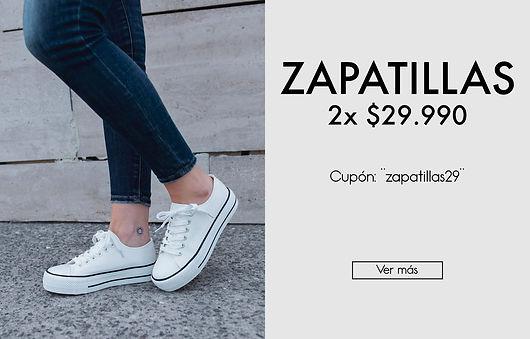 Oferta Zapatillas de Mujer - Elige tu Número