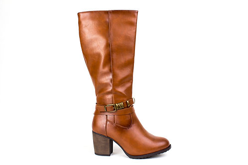 Bota New Walk Hebilla Camel