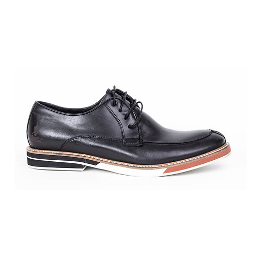 Zapato Polo Club Negro Preto