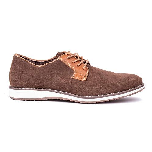 Zapato Nat Geo Taupe Cuero