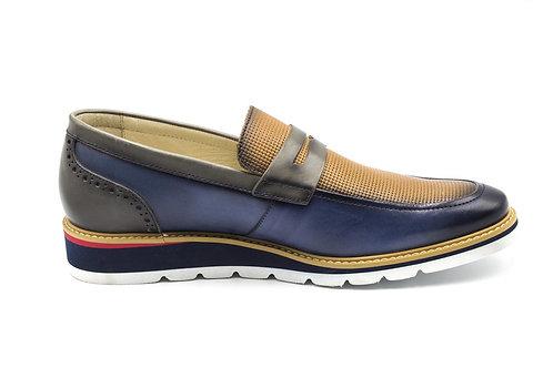 Zapato Pikolinos Toulouse Blue Cuero