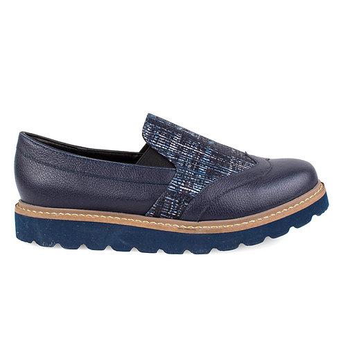 Zapato Exs Moka Azul